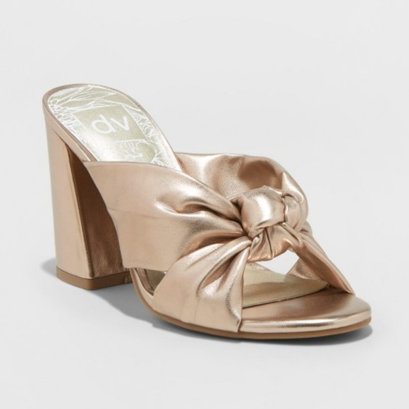 DV by Dolce Vita Shoes - DV - Gold Knot Heels